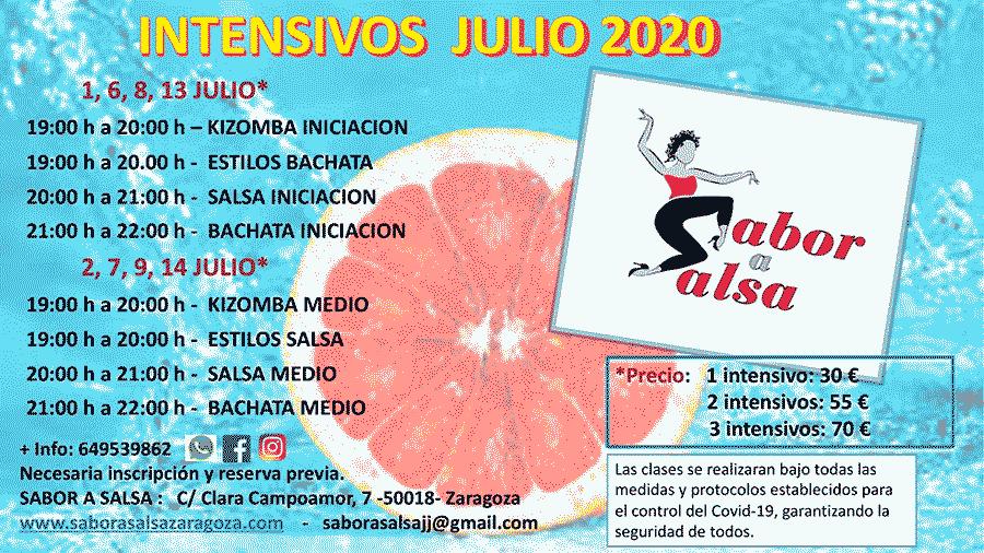 clases de baile intensivos verano 2020